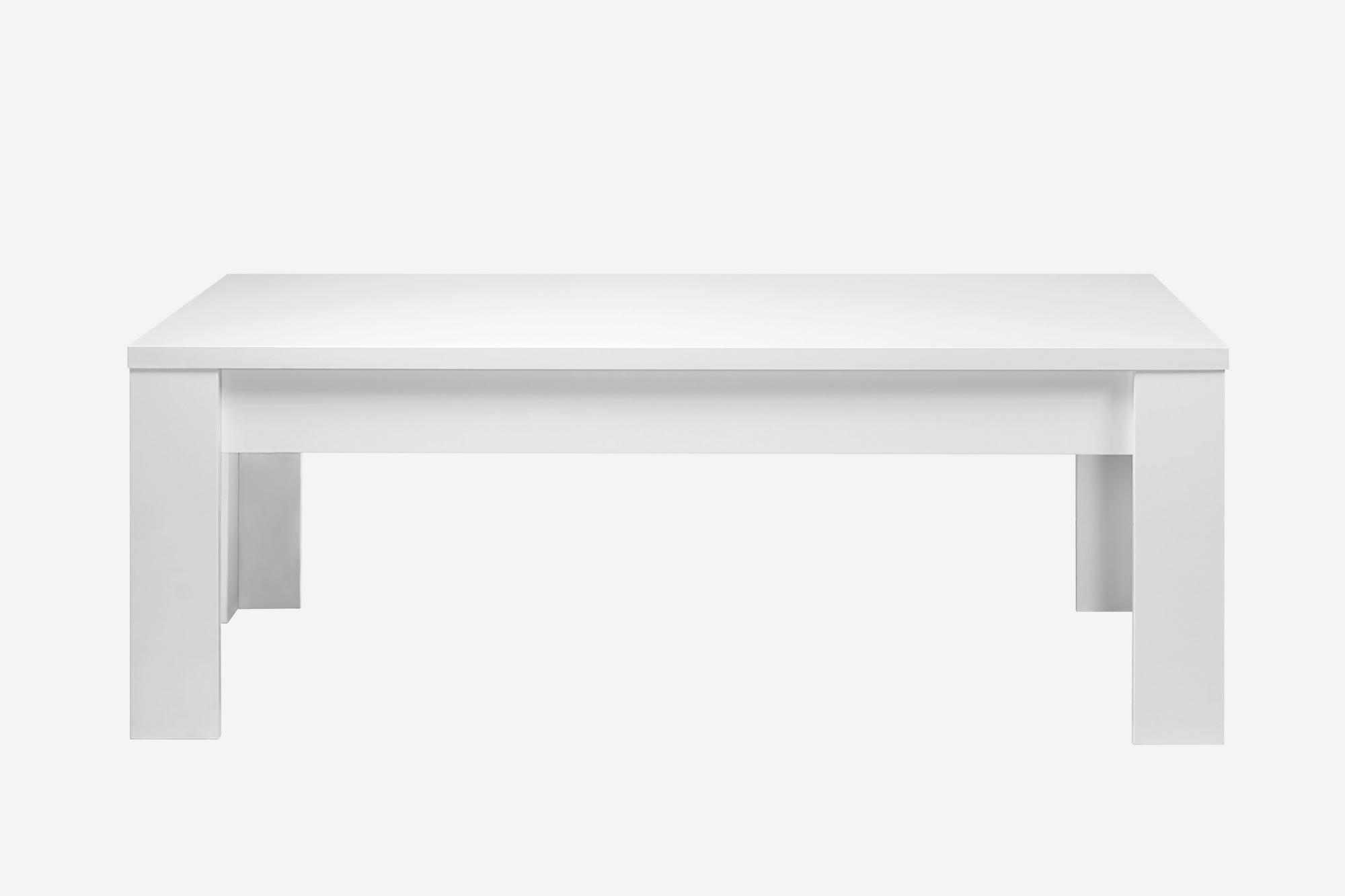 Mesa de centro eos lacado blanco