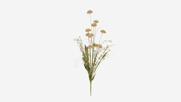 Flor seca Pom Pom verde