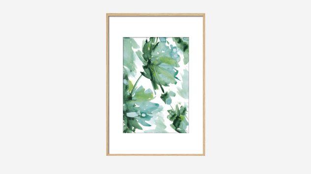 Cuadro Flor de oriente 60 cm