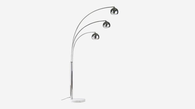 Lámpara de pie Chicago cromo