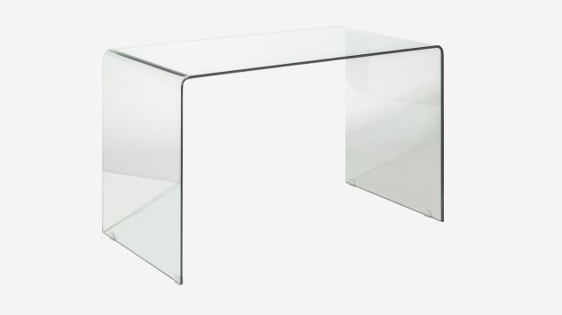 Mesa de estudio Transparente