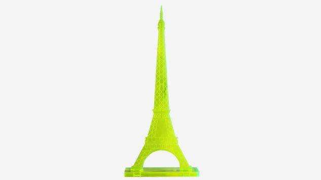 Torre Eiffel pistacho