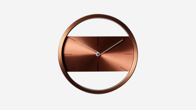 "Reloj 12"" Belt marrón claro"