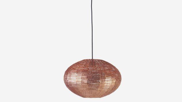 Lámpara de techo Nest cobre