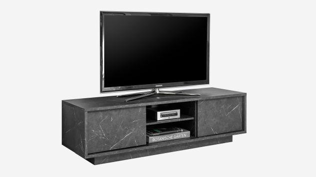 Mueble Tv Ice mármol antracita