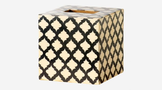Mosaic tissue box