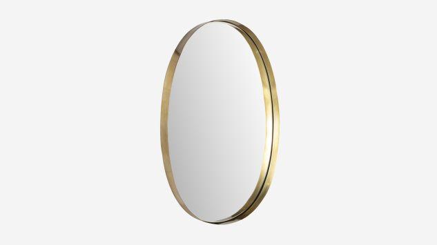 Espejo ovalado Mirror dorado