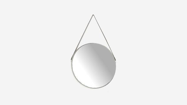 Espejo con cuerda blanco