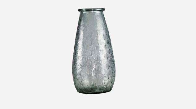 Jarrón Palm transparente 34 cm