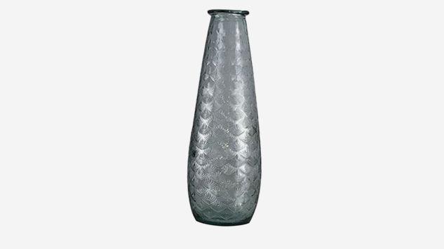 Jarrón Palm transparente 55 cm