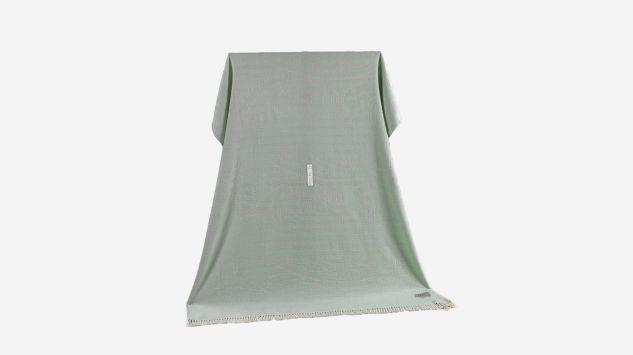 Manta verde 130x170 cm