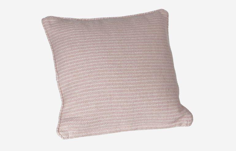 Cojín Elba rosa 45x45 cm