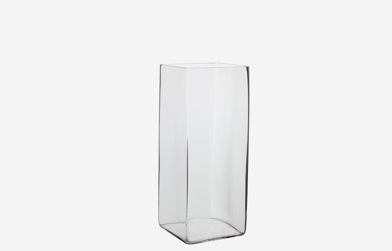 Jarrón Britt transparente 35 cm