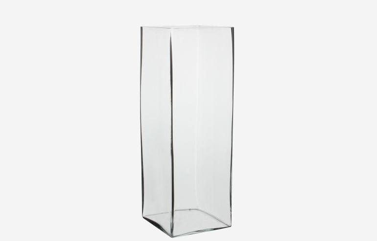 Jarrón Britt transparente 42 cm