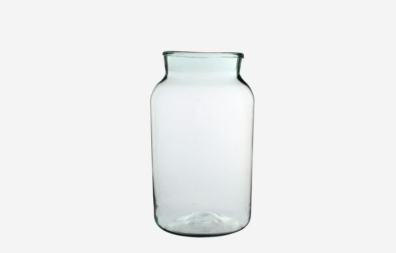 Jarrón Vienne transparente 44 cm