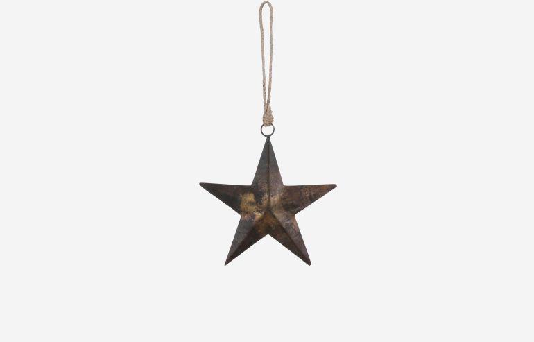 Estrella de Navidad óxido
