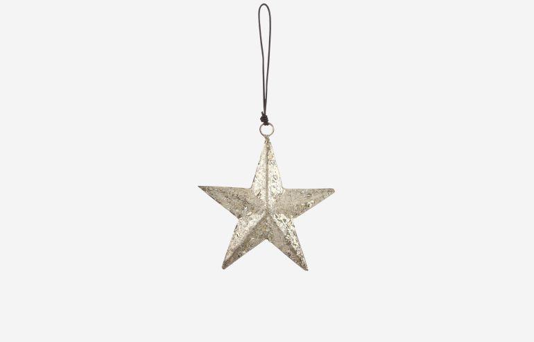 Estrella de Navidad oro