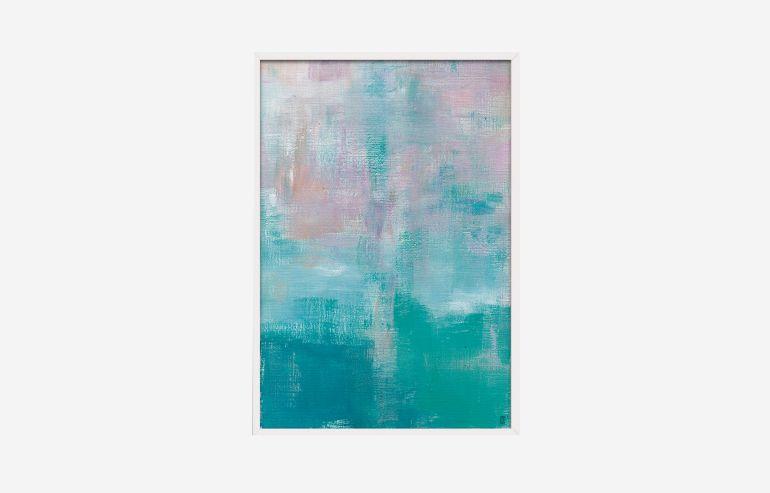 La Rochelle 60 cm painting