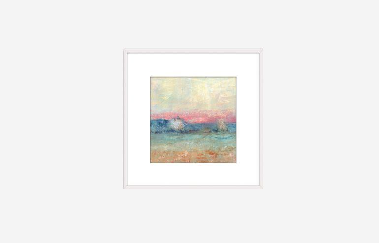 Paisaje rosa I 40 cm painting