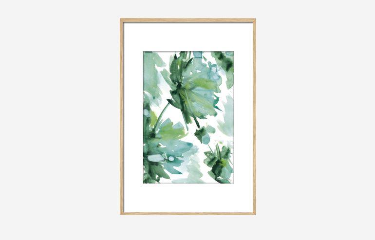 Cuadro Flor de oriente 90 cm
