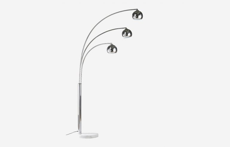 Chicago chrome floor lamp