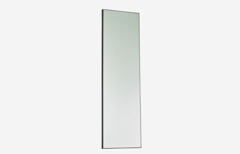 Espejo Look negro 210x70 cm