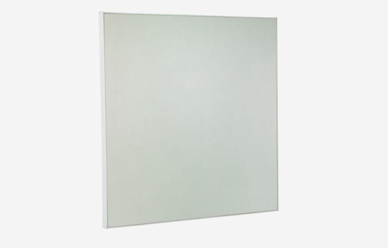 Espejo Look blanco 100x100 cm