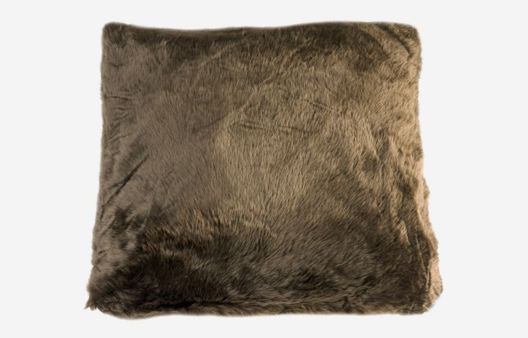 Cojín marrón 60x60 cm