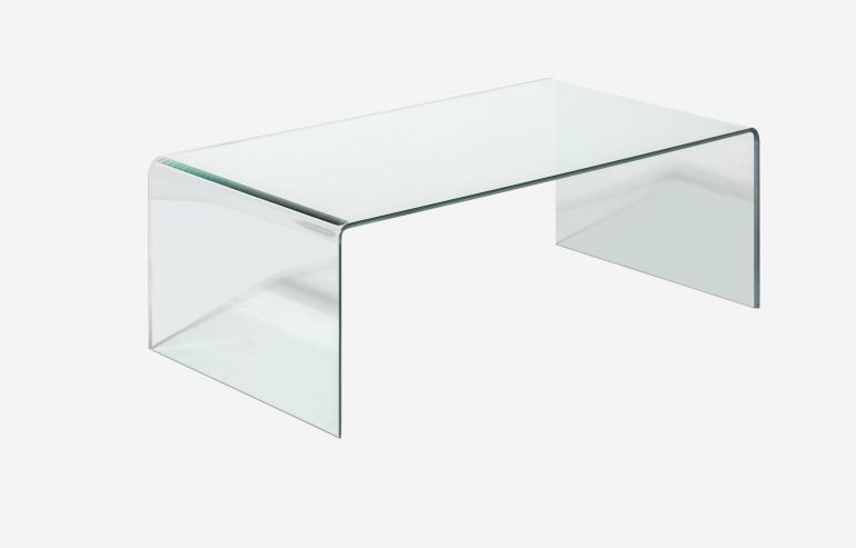 Transparente coffee table