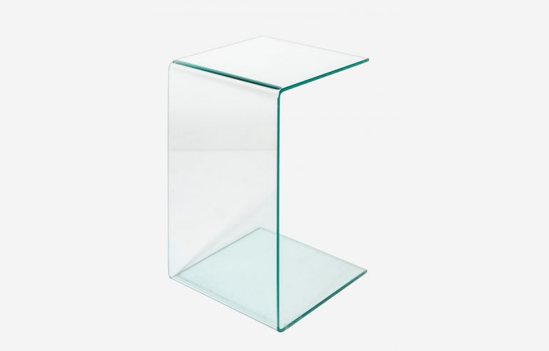 Transparente side table