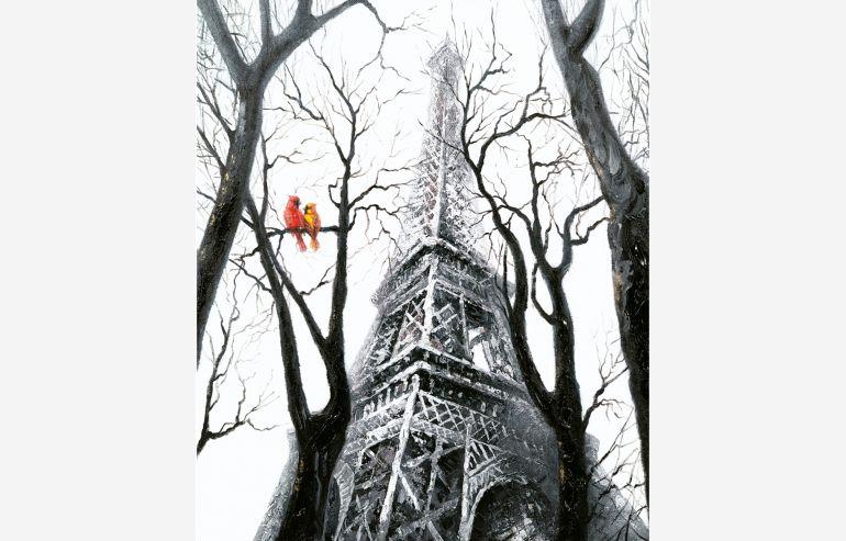 Cuadro Bird at Eiffel
