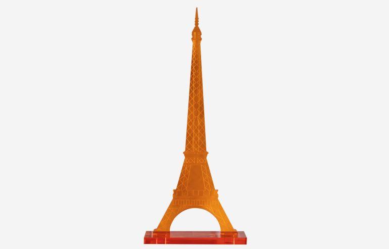 Torre Eiffel naranja