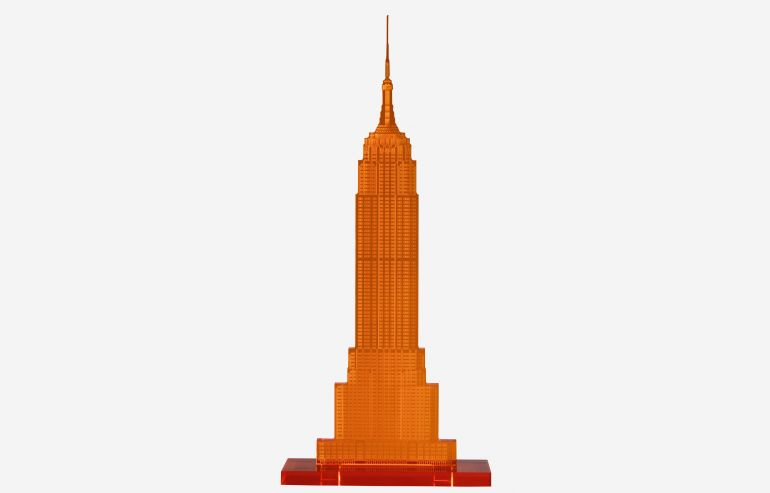 Empire State naranja