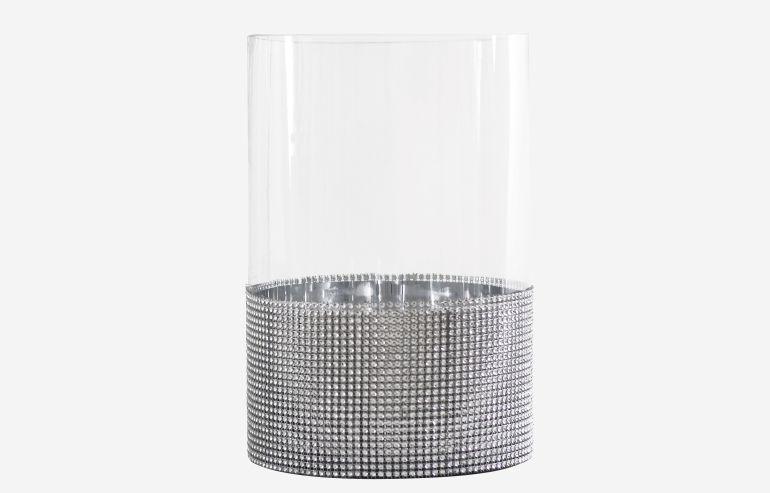 Glam small C vase