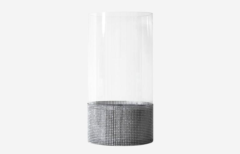 Glam large C vase