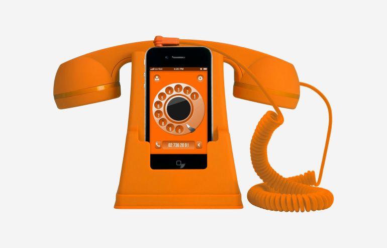 Altavoz smartphone Icephone naranja