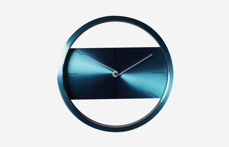 "Reloj 12"" Belt azul"