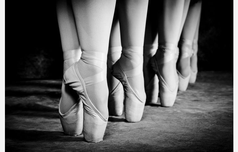 Cuadro cristal Ballerinas