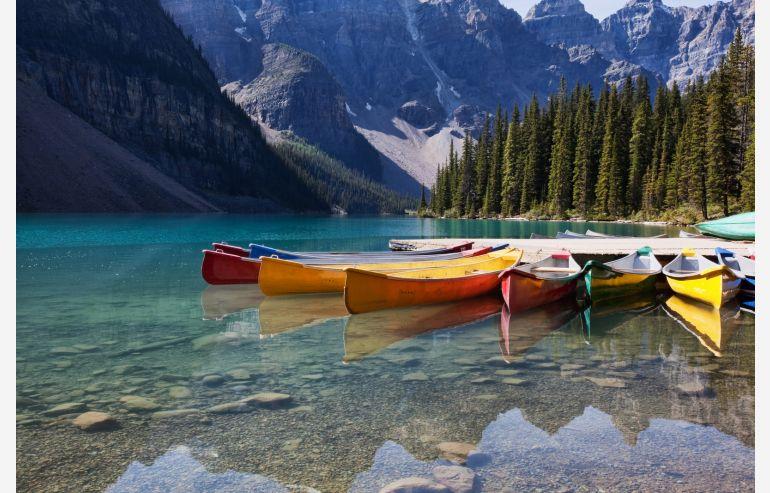 Cuadro cristal Lake