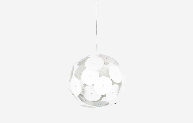 Lámpara de techo Pancake blanco