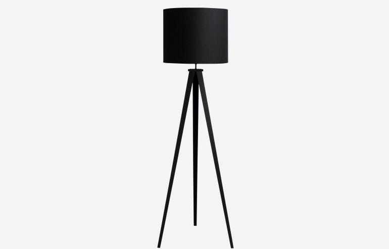 Lámpara de pie Go negro