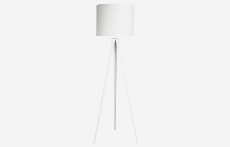 Go white floor lamp