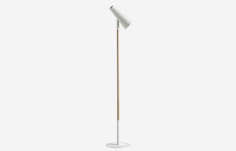 Lámpara de pie Delicious blanco
