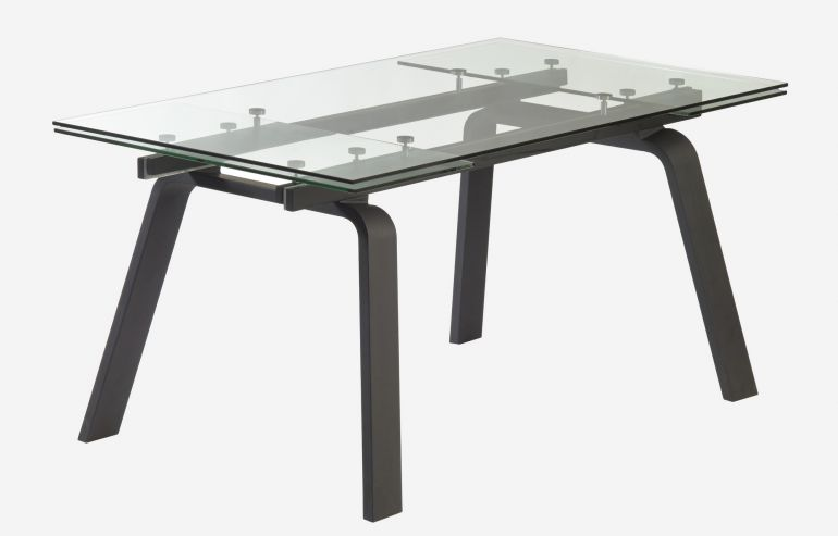 Moon extension dining table