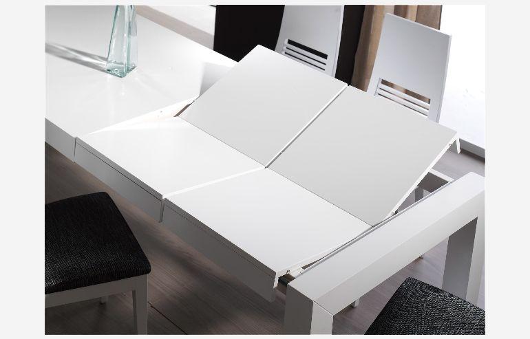 Mesa de comedor extensible modelo 520