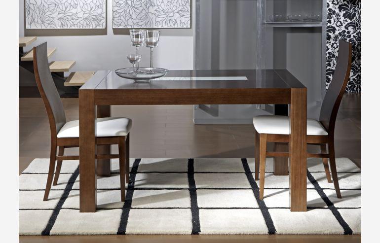 Mesa de comedor extensible modelo 509
