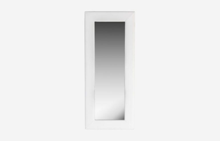 Espejo 80x190 cm blanco