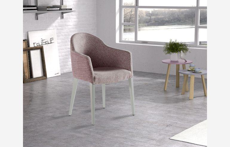 Pavía pink armchair