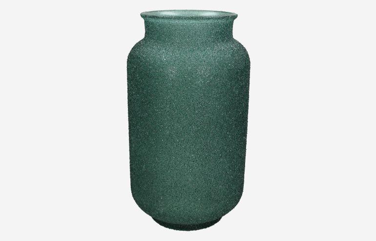 Jarrón Reciclado verde