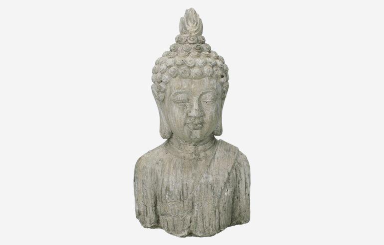 Figura Budha gris
